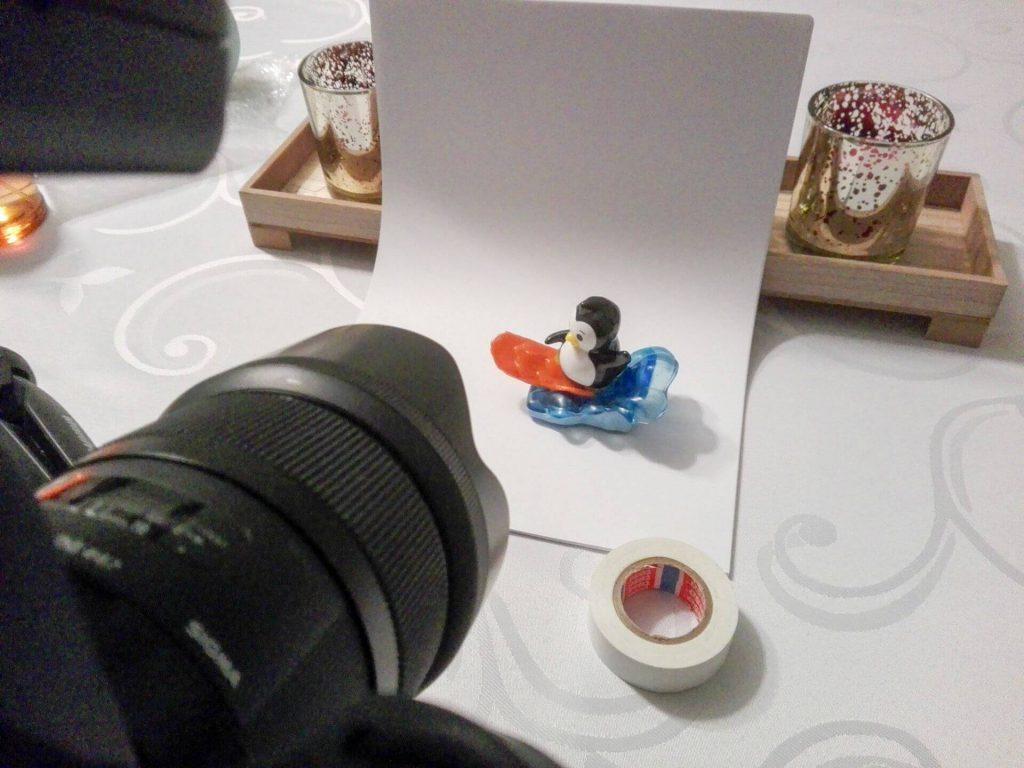 Przygotowania do wykonania profesjonalnej fotografii produktowej